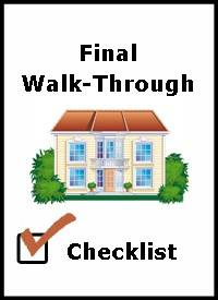 final checklist
